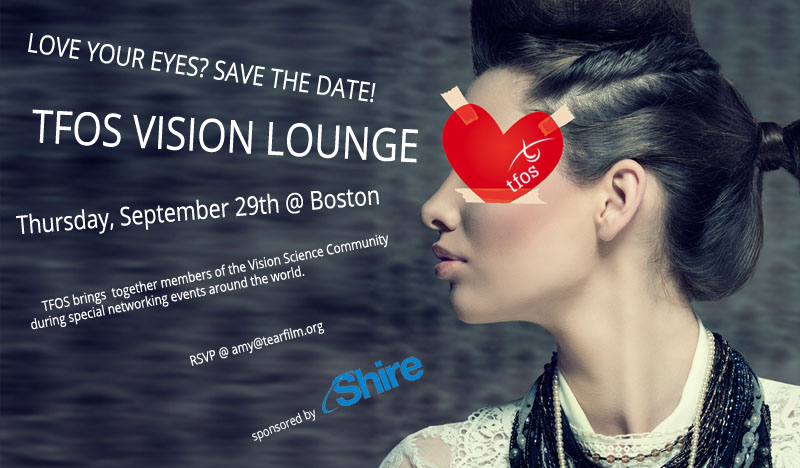 Save the Date TFOS Vision Lounge
